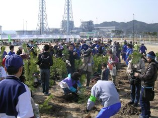 H210215第3回唐津みなと松原植樹祭写真 074