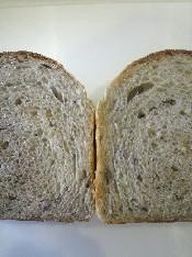 ご飯パン断面