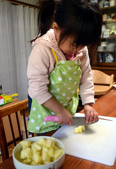 アップルパイ作り