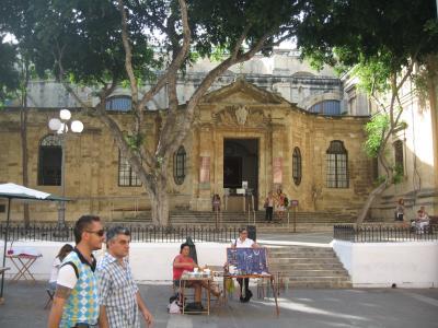 聖堂入り口