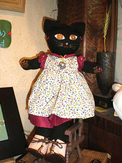 猫の夢猫人形