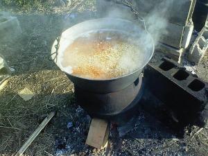 080315大豆を炊く