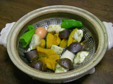 080911蒸し野菜