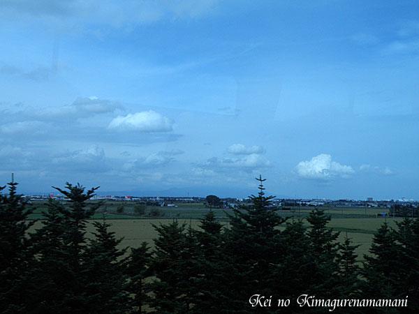 車窓から見た風景♪