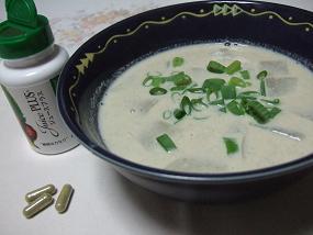 9月15日 朝味噌スープ