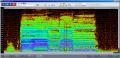 モモ連続音ノイズスペクトル