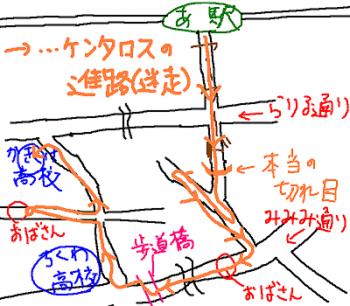 実際の地図