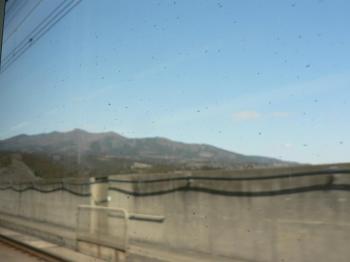 見えてきた山