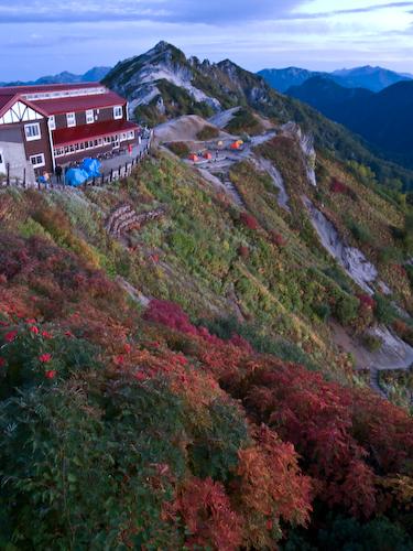 燕岳登山49