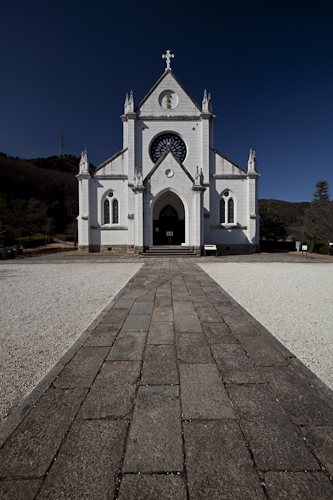 白亜の教会