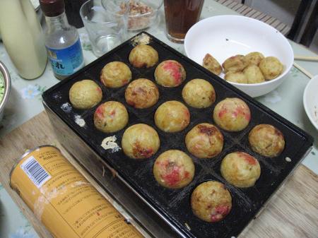 13_July_2008 たこ焼きパーティー!