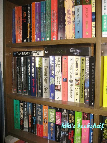 kikis bookshelf