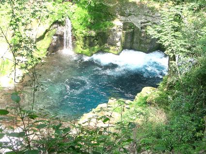 紺碧の菊池渓谷