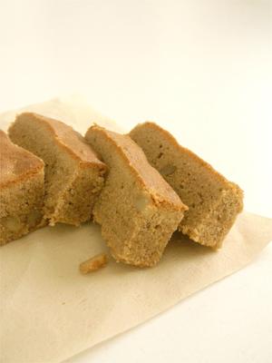 くるみときな粉のスパイスケーキb