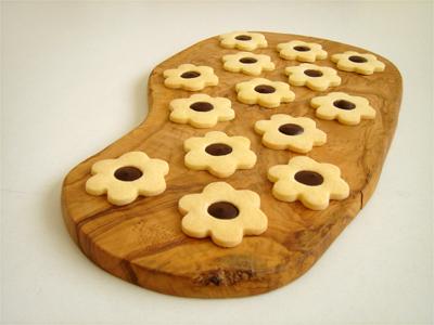 花チョコクッキーa