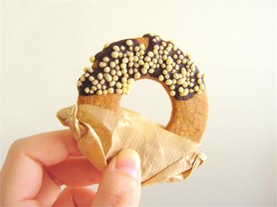 全粒粉ドーナツクッキーa