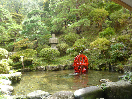 湯瀬ホテル庭園