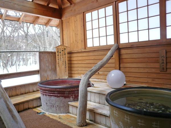 露天の風呂