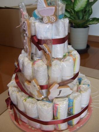 おむつケーキ8