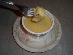 即席チーズフォンデュ2