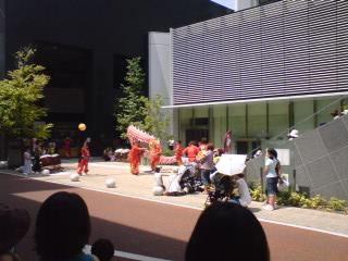 川本喜八郎人形美術館前
