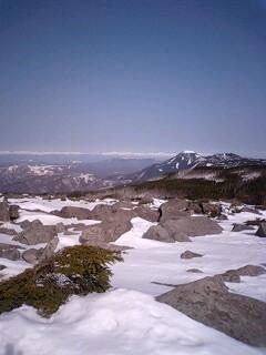 中山から北アルプス1