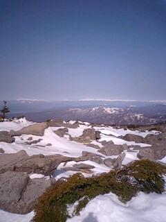 中山から北アルプス2