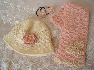 マフラー&帽子セット