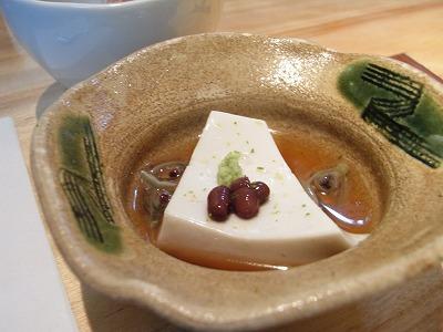白胡麻豆腐 新じゅん菜