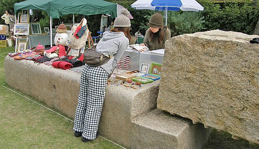 2008年アートフリーマーケット-4