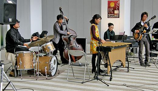 影山朋子(Vib)クインテット-1