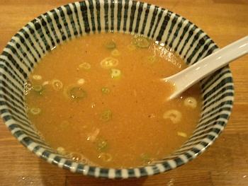 スープ割りお願いします。