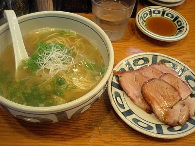 チャーシュー麺しょうゆ味