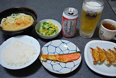 晩御飯ですよ。