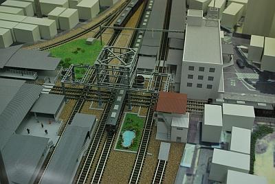 阪急西宮北口駅のダイアモンドクロス
