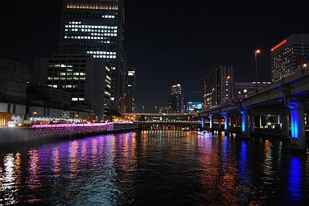 大江橋から西を見たら
