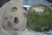 名代豆餅とよもぎ餅