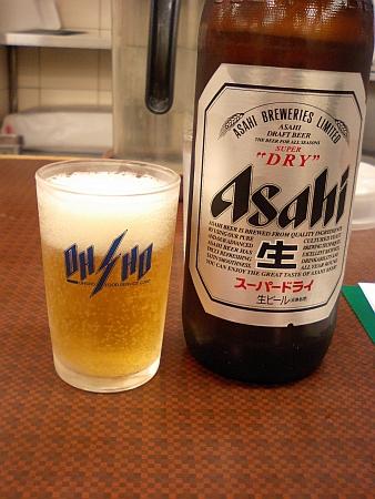 まず、ビンビール