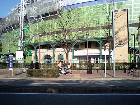 今朝の甲子園球場