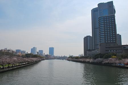 源八橋からの眺め