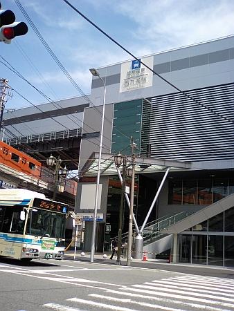 阪神電車西九条駅の増設部分