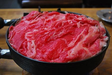 牛肉鉄鍋♪