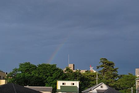 あっ!虹や!(^o^)丿