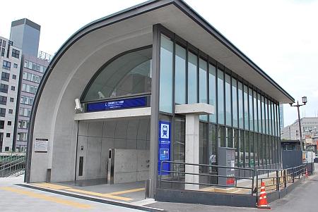 京阪電車、なにわ橋駅
