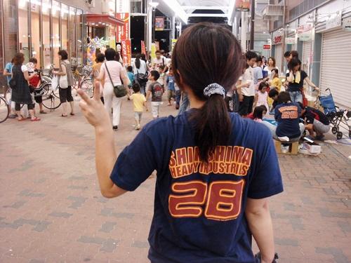 今日は新長田夏祭りやった。