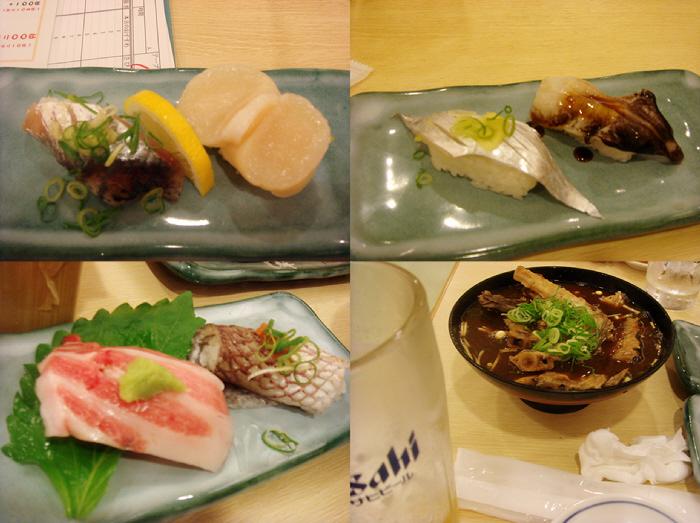 おついたち参りと魚河岸の寿司えびす
