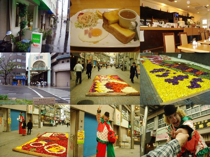インフィオラータ神戸と元町フルートステージ