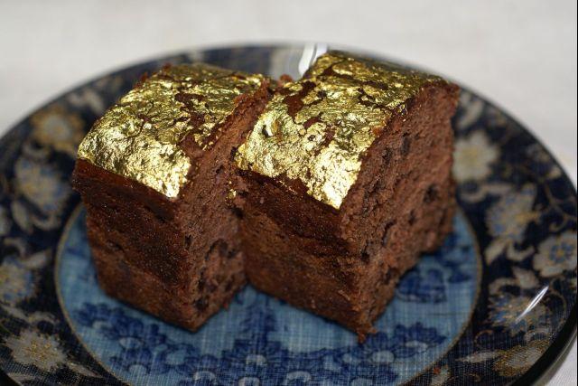 チョコレートケーキ黄金の焼き菓子0000
