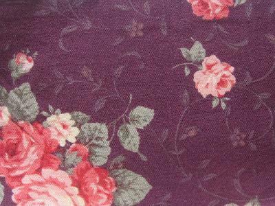 ⑧深い紫色のバラ の