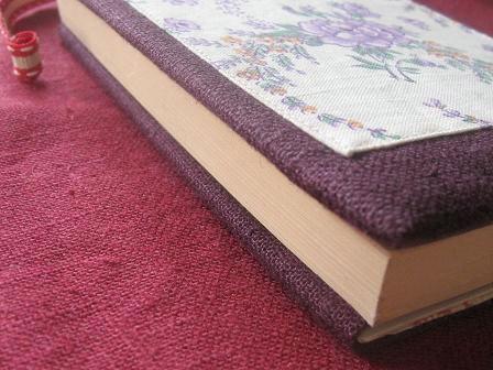 ③ブックカバー 厚みこれは1.5cm